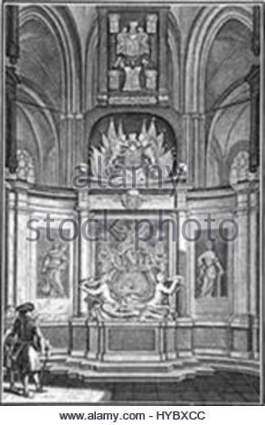 Graf Van De Ruyter In De Nieuwe Kerk In Amsterdam Stock