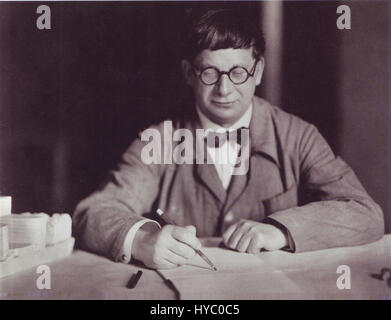Hans Poelzig, 1927 - Stock Photo