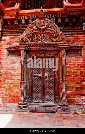 patan museum, durbar square, Kathmandu, Nepal - Stock Photo
