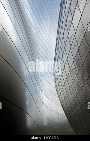 walt disney concert hall, los angeles, united state of america - Stock Photo
