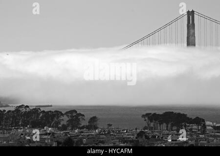 golden gate bridge, san francisco, united states of america - Stock Photo