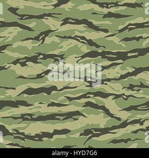 Vietnam Tiger stripe Camouflage seamless patterns