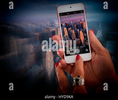 USA - NEW YORK: Manhattan - Stock Photo