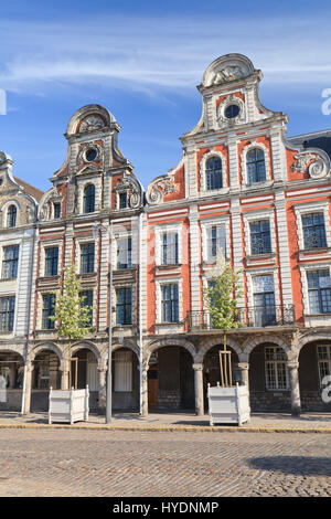 France, Pas-de-Calais (62), Arras, la Grand'Place // France, Pas de Calais, Arras, the Grand Place - Stock Photo