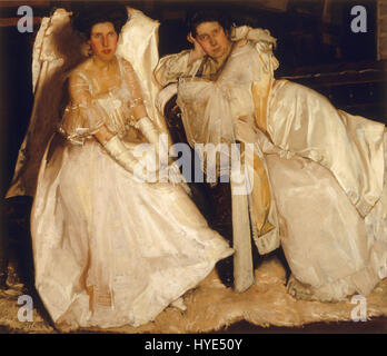 Hugh Ramsay   The sisters   Google Art Project - Stock Photo