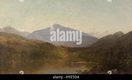 John Frederick Kensett   White Mountains from Shelburne, NH   Google Art Project - Stock Photo
