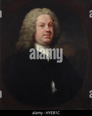 William Hogarth   Dr Benjamin Hoadly, MD   Google Art Project - Stock Photo