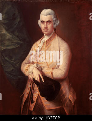Thomas Gainsborough   Sir Robert Clayton   Google Art Project - Stock Photo