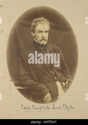 Felice Beato (British, born Italy   (Portrait of Sir Colin Campbell Lord Clyde, Commander in Chief in India)   Google - Stock Photo