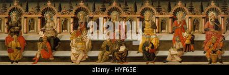 Giovanni di Ser Giovanni Guidi, 'Lo Scheggia'   The Seven Liberal Arts   Google Art Project - Stock Photo