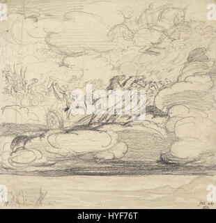 James Ward   Elijah Casting off His Mantle   Google Art Project - Stock Photo