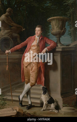 Pompeo Batoni (Italian (Lucchese)   Portrait of John Talbot, later 1st Earl Talbot   Google Art Project - Stock Photo