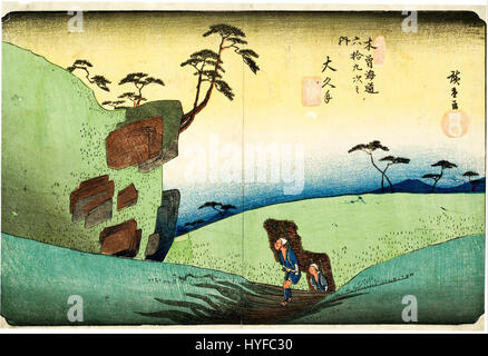 Utagawa Hiroshige   Woodcut   Google Art Project - Stock Photo