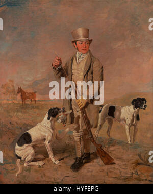 Benjamin Marshall   Portrait of a Sportsman, Possibly Richard Prince   Google Art Project - Stock Photo