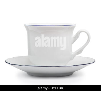 Coffee cup over white background - Stock Photo