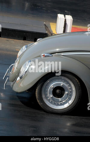 vw drag car beetle dragster dragsters race racing volkswagen rear Stock Photo: 61652287 - Alamy