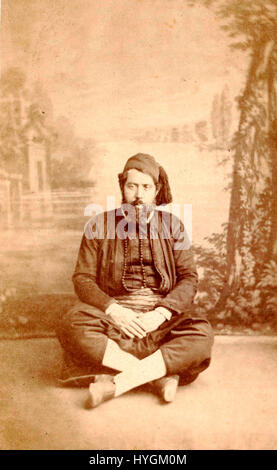 Auguste Osbert. Rabbin Mardokhai Abi Serour - Stock Photo