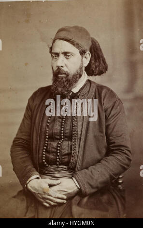 Auguste Osbert. Rabbin Mardokhai Abi Serour (btv1b8450944q) - Stock Photo