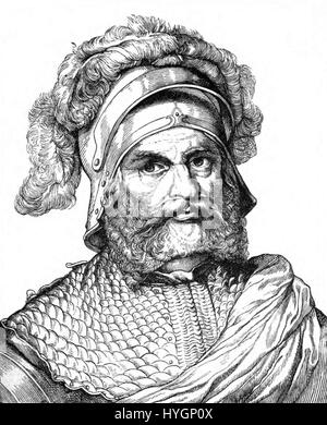 Georg von Frundsberg - Stock Photo