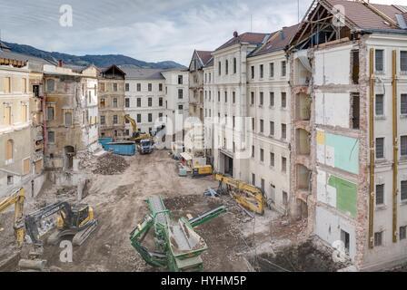 Salzburg, Sanierung und Umbau des Landesgerichts, Rudolfsplatz 2, 5020 Salzburg - Stock Photo