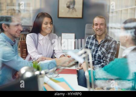 Happy talk - Stock Photo