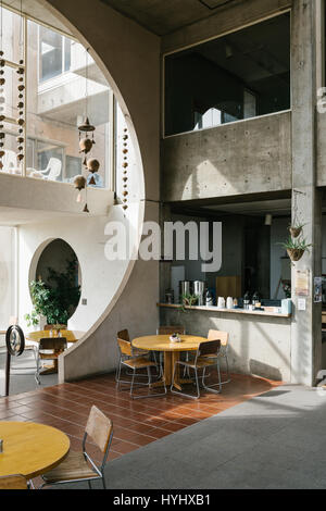 Arcosanti is an Urban Project in Arizona by Paolo Soleri - Stock Photo