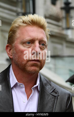 Boris Becker at Whitehall Place Westminster London on 10th October 2012. - Stock Photo