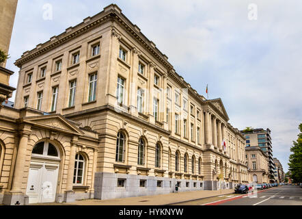 Royal Military Academy in Brussels - Belgium - Stock Photo
