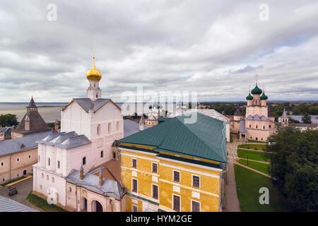 Church in Kremlin of Rostov the Great - Stock Photo