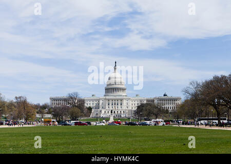US Capitol building, west front - Washington, DC USA - Stock Photo