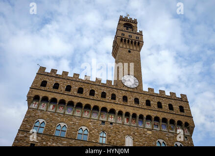 FLORENCE, ITALY - CIRCA MAY 2015:  Palazzo Vecchio in Florence - Stock Photo