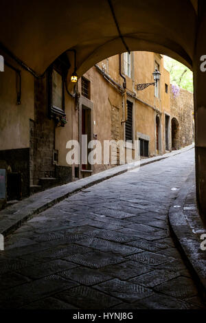 FLORENCE, ITALY - CIRCA MAY 2015:  Typical street in Florence. - Stock Photo