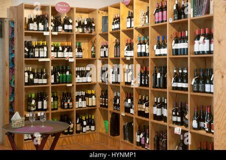 Wine center - Ribeira Sacra, Monforte de Lemos, Lugo province, Region of Galicia, Spain, Europe - Stock Photo