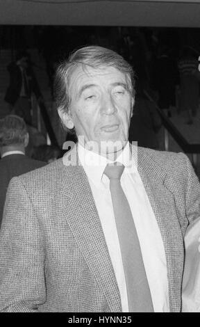 Dennis Skinner, Labour party Member of Parliament for Bolsover, attends the party conference in Brighton, England - Stock Photo