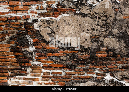brick wall background , red texture - Stock Photo