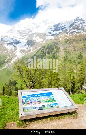 Upper Tauern National Park near Grossglockner, Carinthia and East Tyrol, Austria - Stock Photo