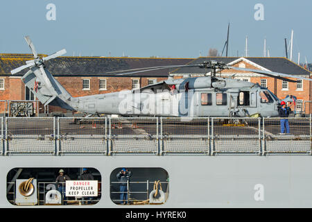 Sikorsky MH-60S US Navy Helicopter.
