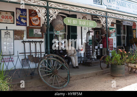 Uncle Samie's Store, Oom Samie se Winkel, Stellenbosch, South Africa - Stock Photo