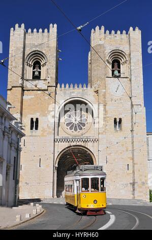 Portugal - Lisbon, Alfama. Se Cathedral - Stock Photo