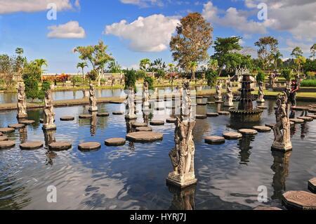 Statue at the Tirtagangga Water Palace in Bali