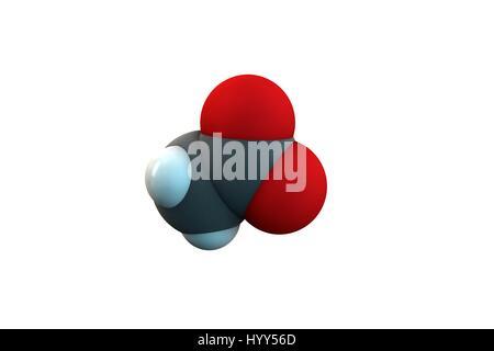 Acetic Acid Molecule Vinegar Is An Aqueous Solution Of Acetic Acid