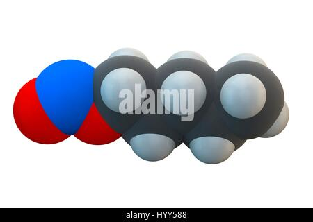 Amyl Nitrite Popper Drug Molecule Also Used As Antidote To Cyanide