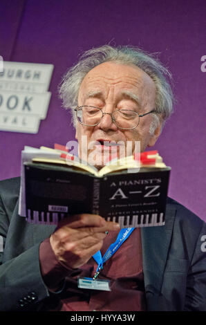 19 August 2013 - Edinburgh, Scotland - Austrian pianist and writer Alfred Brendel at the Edinburgh International - Stock Photo
