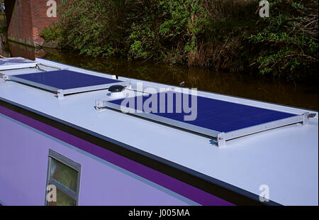Solar Energy Panels On The Flat Roof Of An Office Building Essen Stock Photo
