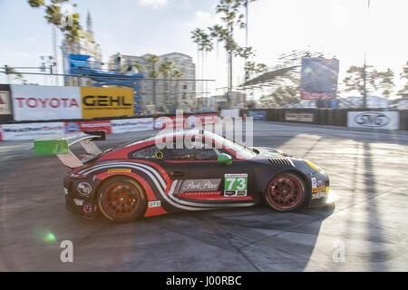 Long Beach, California, USA. 7th Apr, 2017. April 07, 2017 - Long Beach, California, USA: The Park Place Motorsports - Stock Photo
