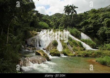 El Nicho,  Cienfuegos and Trinidad area, Cuba Island - Stock Photo
