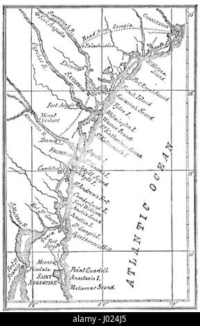 Georgia Map Stock Photo Royalty Free Image Alamy - Map of georgia coast