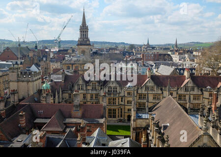 Oxford Skyline - Stock Photo