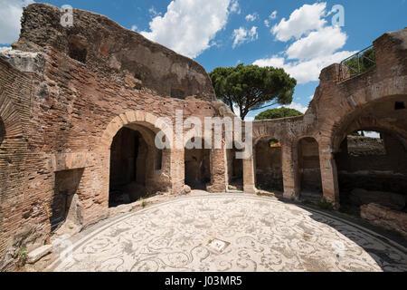 Rome italy ostia antica remains of the temple of for Mr arredamenti ostia antica