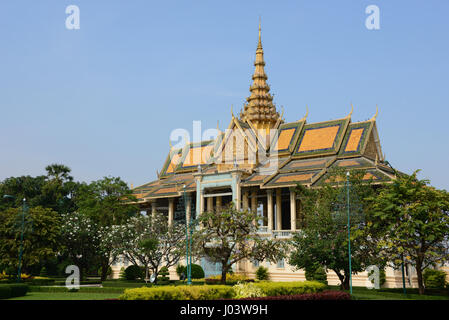 Royal Palace of Cambodia, Phnom Penh - Stock Photo